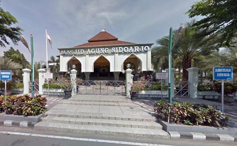 Masjid Agung Sidoarjo Dilengkapi Travelator